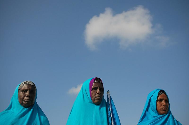 Three Somali women