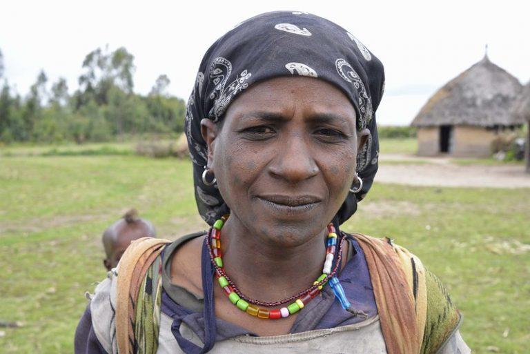 Oromo Woman, Ethiopia