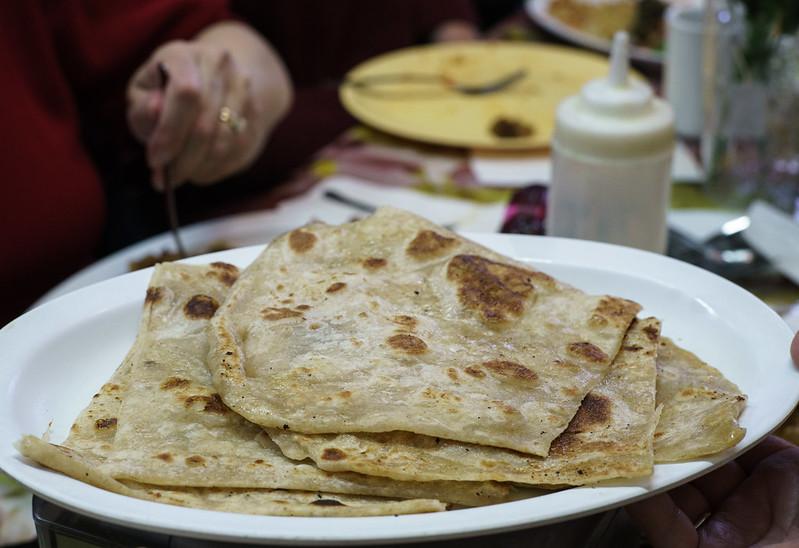Somali bread on plate