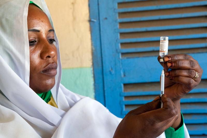 Vaccination campain against meningitis in El Daein