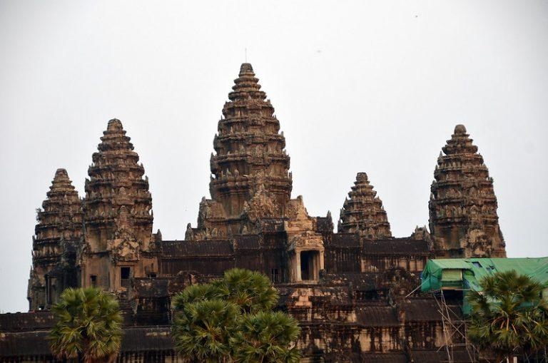 Ankor Wat towers