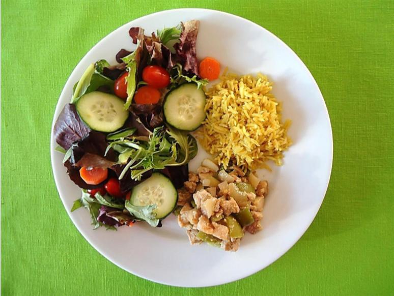 Somali Food on Plate