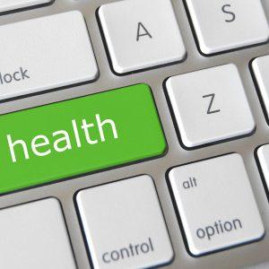 Keyboard with Health key