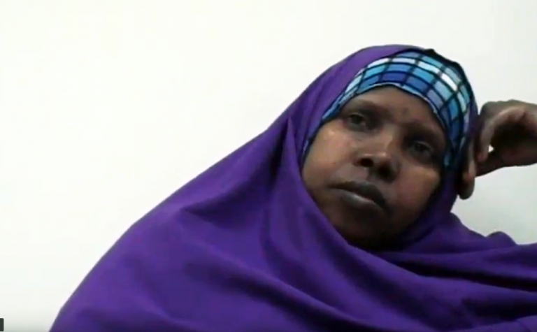 Oromo woman describing psychological effetcts of secondary torture