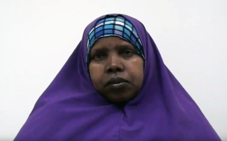 Oromo patient describing injuries from torture
