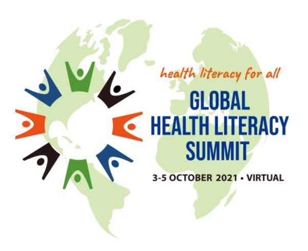 Global Health Literacy Summit Flyer